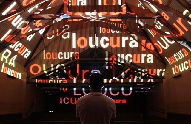 Um dos ambientes do Museu da Língua Portuguesa. Foto: Jefferson Pancieri