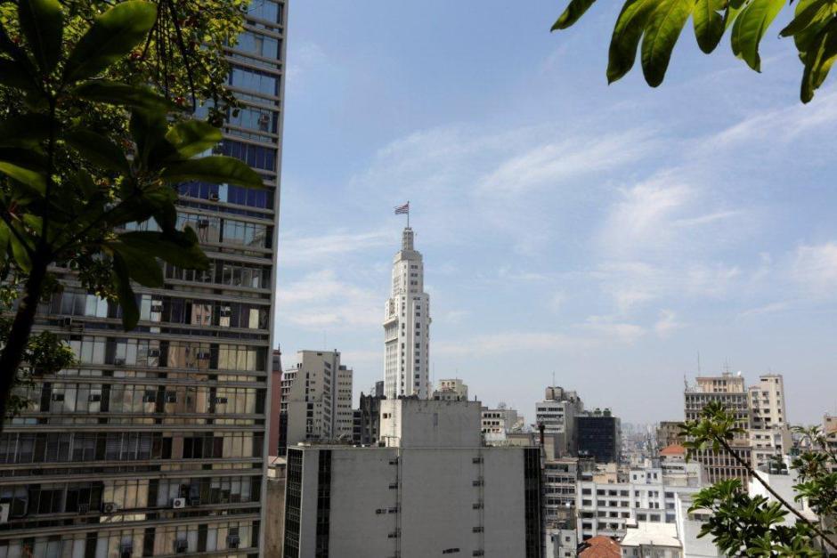Do mirante, avista-se o edifício Altino Arantes. Foto: José Cordeiro/SPTuris
