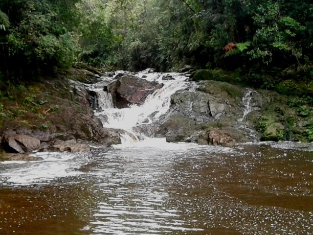 Cachoeira do Sagui - Fazenda Maravilha. Foto: Patrícia Ribeiro/ Passeios Baratos em SP