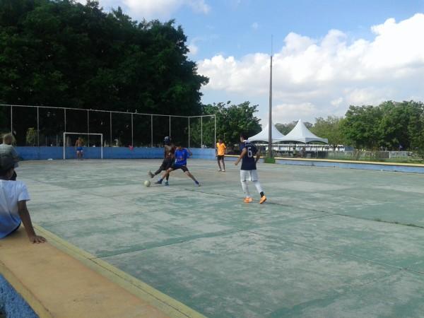 Para quem gosta de esportes, há diversas quadras Foto Patricia Ribeiro/ Passeios Baratos em SP