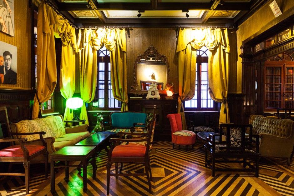 Ambiente retrô do Bar Drosophyla Foto: Divulgação
