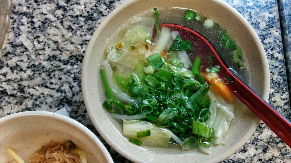 Sopa de legumes: gostosa e nutritiva Foto: Jonas Dias
