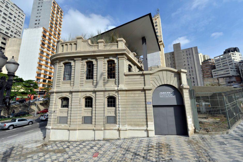 Red Bull Station fica na Praça da Bandeira Foto: Divulgação