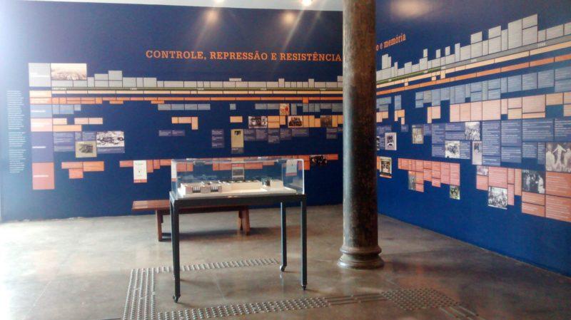 Cronologia dos acontecimentos dos tempos da ditadura Foto: Vilma Alcântara