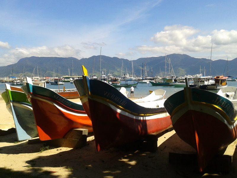 Barcos atracados em Ilhabela Foto: Divulgação