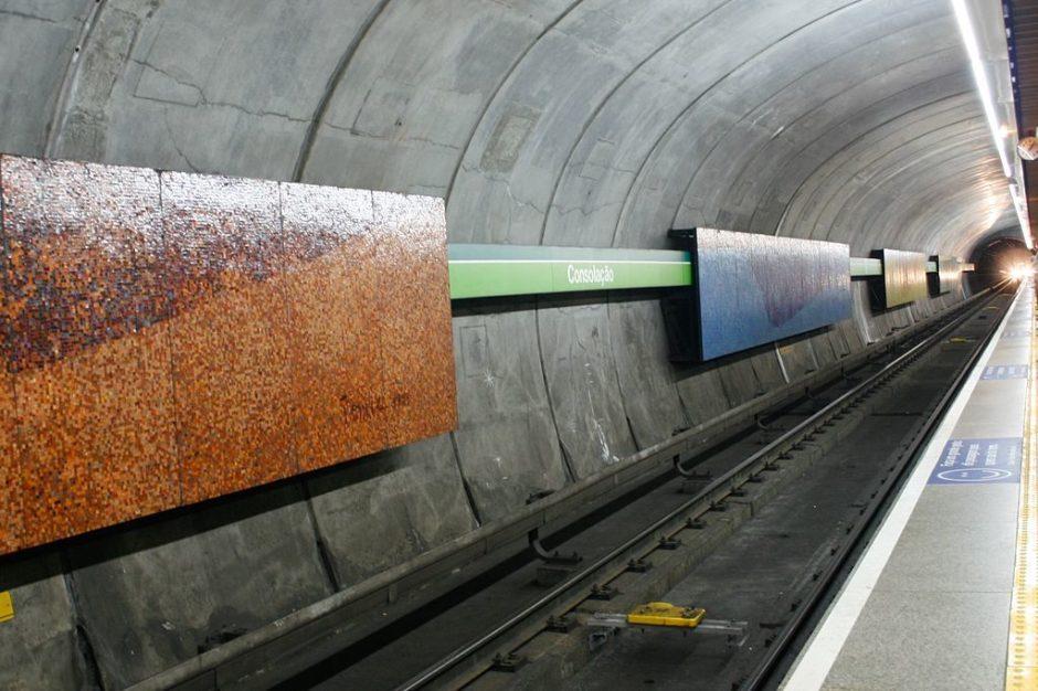 Quatro Estações - metrô Consolação