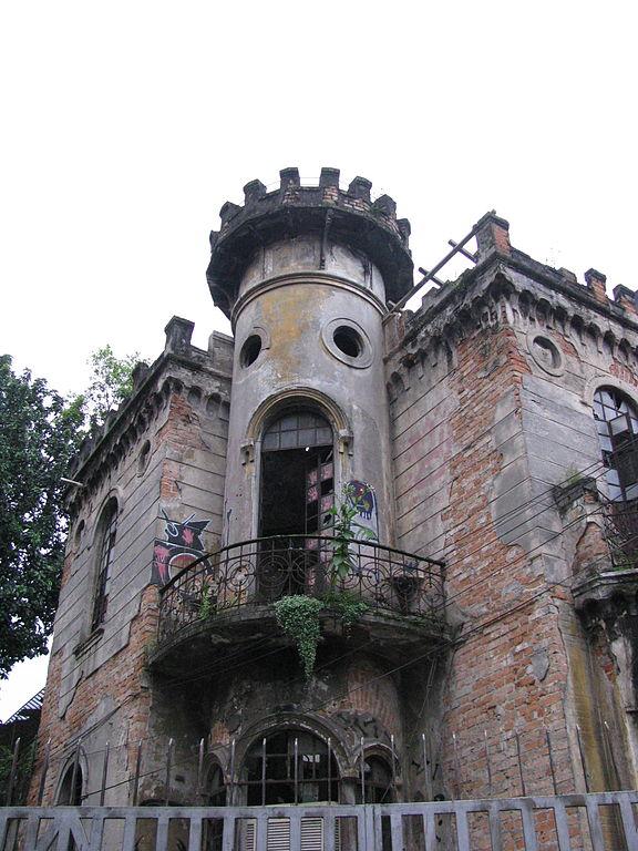 Castelinho antes do restauro Foto: Natalia Naomi wikimedia