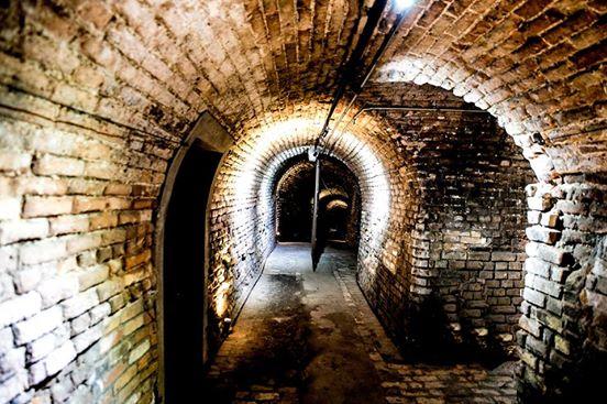 Túnel na Casa das Caldeiras Foto: Edu Prado