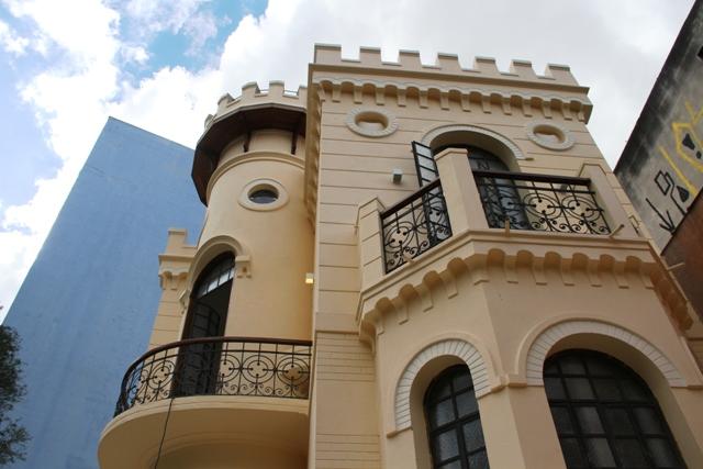 Detalhes do castelinho restaurado Foto: Divulgação
