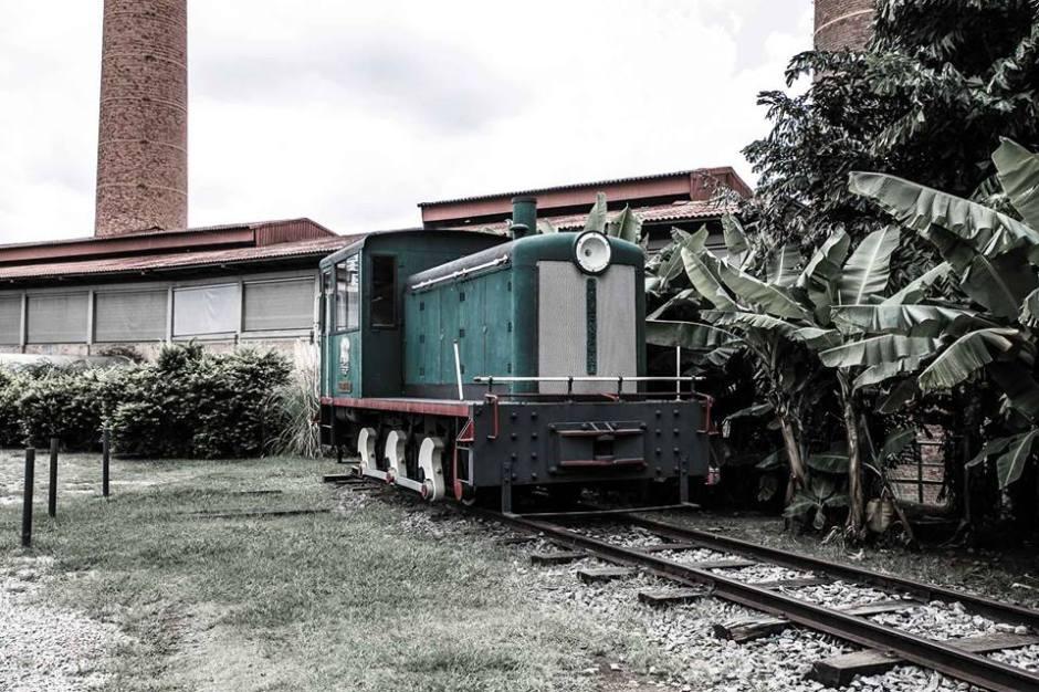 Locomotiva da Casa das Caldeiras Foto: Edu Prado