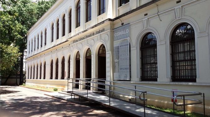 Casa Oswald de Andrade Divulgação