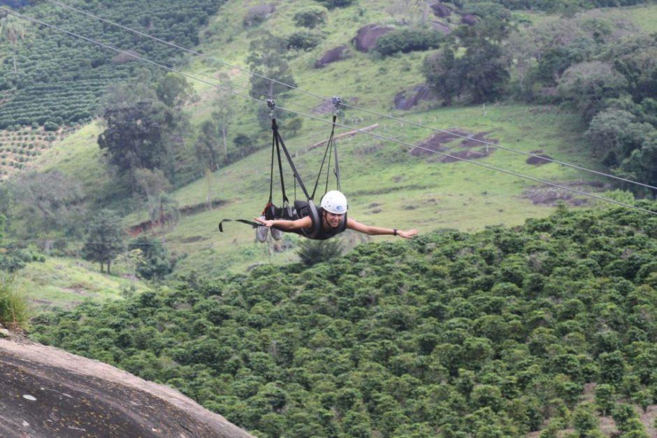 Parque dos Sonhos - tirolesa voadora Foto Cuca Jorge
