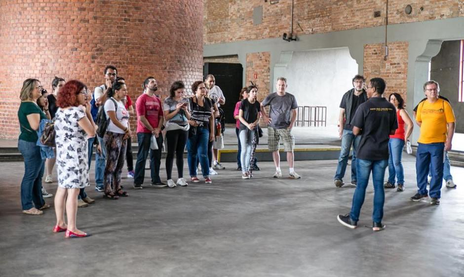 Visita monitorada na Casa das Caldeiras com o grupo Passeios Baratos em SP Foto: Edu Prado
