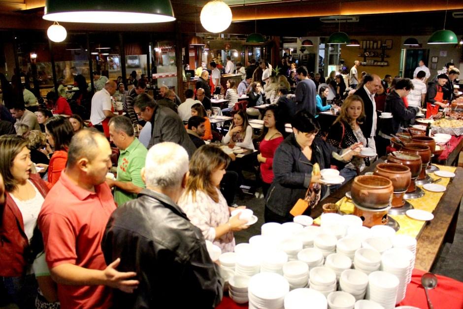 Festival de Sopa Ceagesp Foto Divulgação
