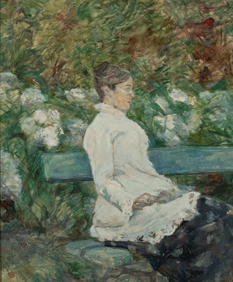 A condessa Adèle de Toulouse-Lautrec