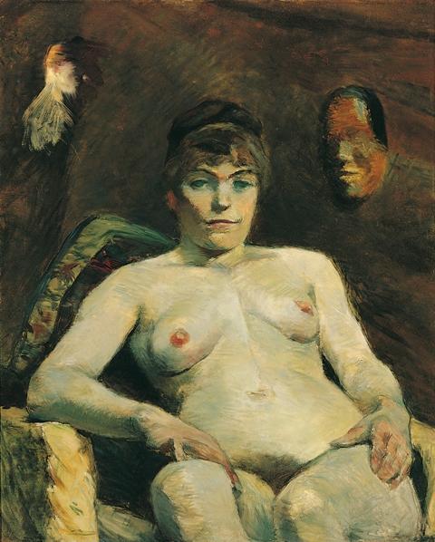 Die dicke Maria (La grosse Maria), 1884 Leinwand, 80,5 x 65 cm Erworben 1962 G 1085
