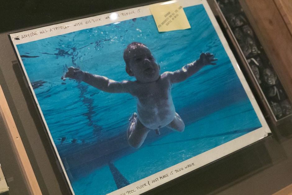 Capa do disco mais famoso do Nirvana