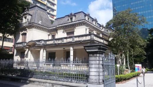 Mansão em estilo clássico francês Casa das Rosas