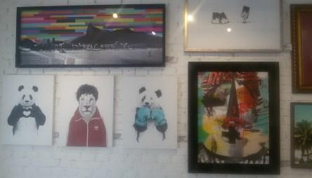 Arte pop na Urban Arts. Foto: Patrícia Ribeiro/ Passeios Baratos em SP