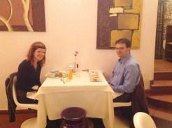 no restaurante do querido Chef Gilberto Rossi em San Miniato