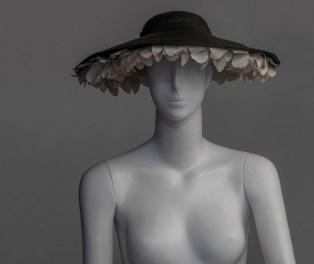 Christian Dior Cappello 1949-1950 acquisizione: dono Simonetta Ginori Guidi