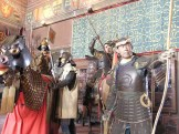 os soldados e suas armaduras