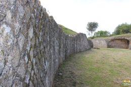 paredes do anfiteatro