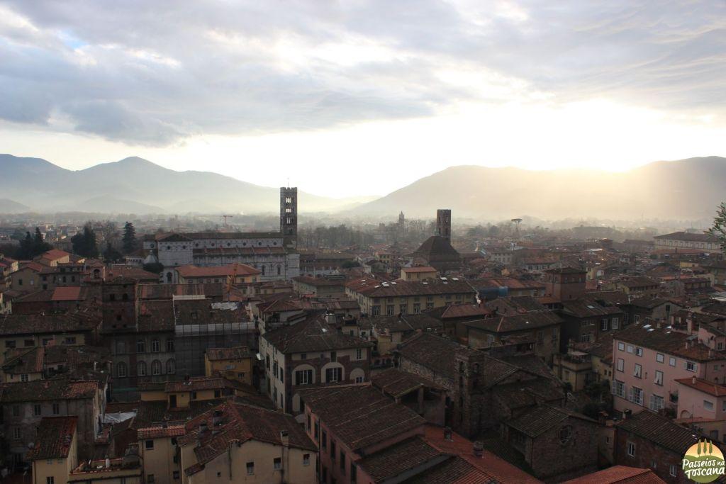 Lucca do alto