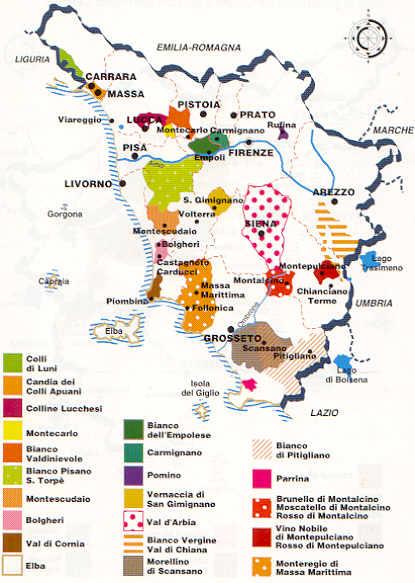 Karta Italien Chianti.Vin Italien Chianti
