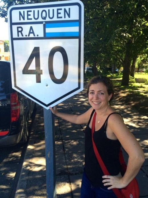 Route 40, Argentina