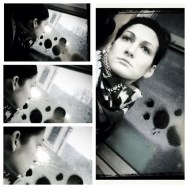 Provinature by Federico Giusti biancoenero, blackandwhite, bn, bw, diptic, filter, hipstamatic, igerslucca, passengers, she, train, windows, woman,