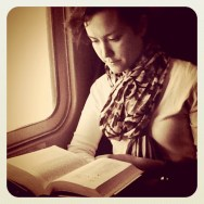 """The girl who reads"" by Federico Giusti filter, igers, igersitalia, iphoneography, passengers, read, seppia, she,"