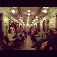 Budapest metro   by Fran Simó budapest, passengers,
