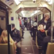 Untitled by Rodrigo Gómez hannover, metro, passengers,