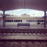 Adéu Girona! by olga balibrea estacion, girona, igers, igerscatalunya, igersgirona, instagramers, iphoneography, passengers, station, ubiquography,