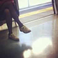 Leoparda!     by Núria Rodríguez feet, passengers, piessengers, train,