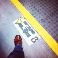 Coche 8      by Núria Rodríguez feet, passengers, piessengers, selfportrait, train,