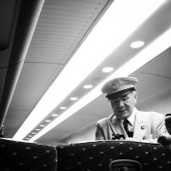 Conductor (revisor)    by Lluis Gerard nozomi, passengers, shinkansen,
