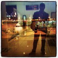 Bon dia!! i últim viatge a  abans de vacances... by Ignasi Clapers airport, mad, passengers, pontaeri,