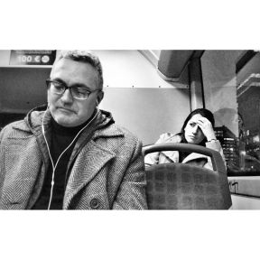 It has not been the best day of her life by Godo Chillida barcelona, blackandwhite, bnw, bnw_life, bnw_society, bus, bw, bw_lover, bw_photooftheday, bw_planet, monochrome, passengers, streetphoto, streetphotography, streetphotography_bw, streetphoto_bw, ubiquography, woman, worried,