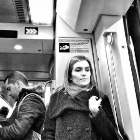 Thinking about what is behind... by Godo Chillida barcelona, barcelona_black, blackandwhite, black_and_white, bnw, bnw_life, bnw_society, bw, bw_lover, bw_photooftheday, bw_planet, igersbnw, monochrome, passengers, streetphoto, streetphotography, streetphotography_bw, streetphoto_bw, subway, thinkingabout, top_bnw, ubiquography, woman,