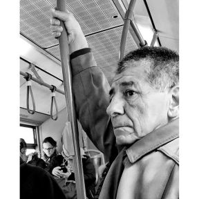 Untitled by Antonio Jiménez Lara commuters, emt, madrid, passengers, streetlife, streetphotography, streetportrait, total_streets,
