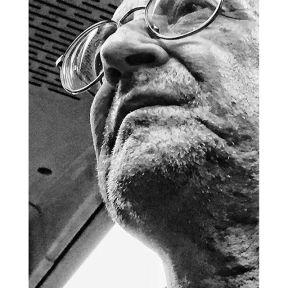 Untitled by Antonio Jiménez Lara madrid, metro, passengers, portrait, shaveless, streetportrait,