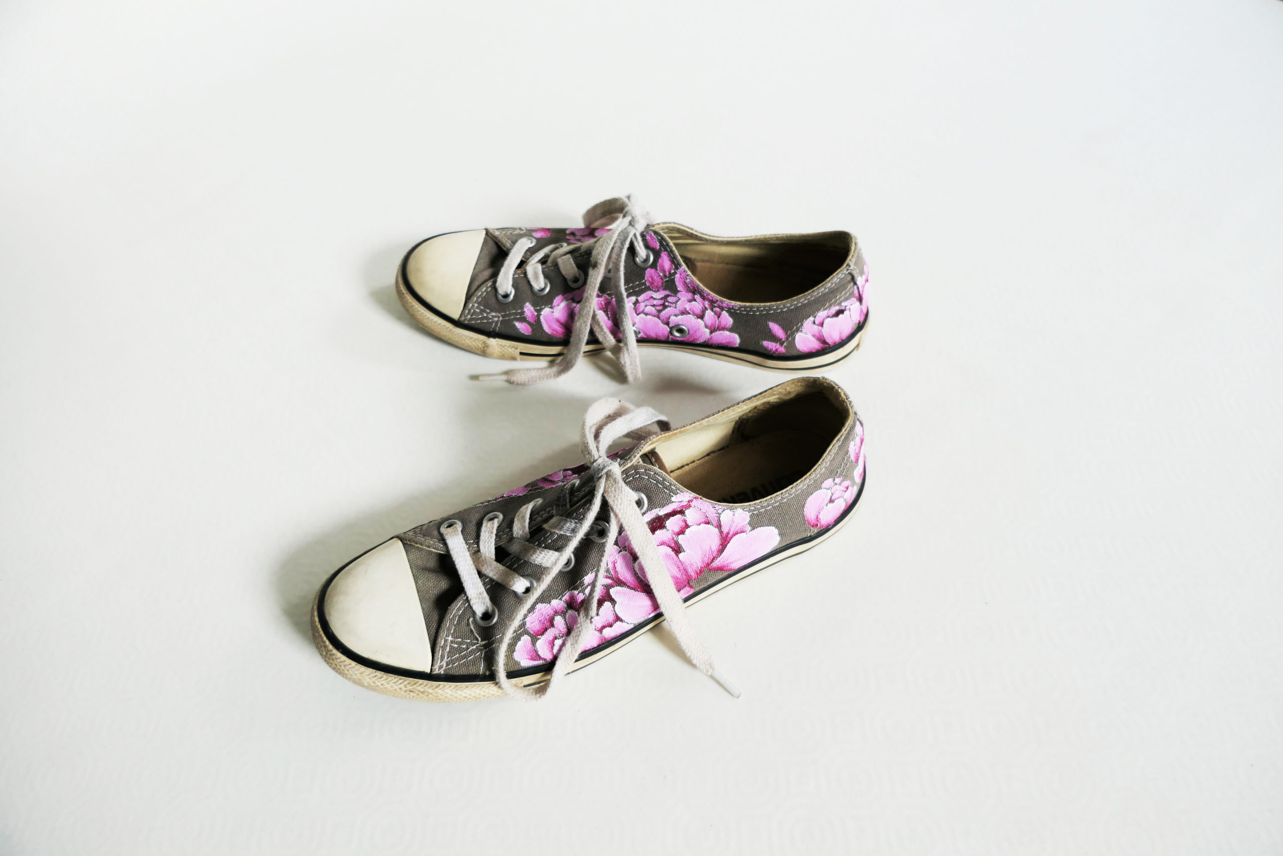 chaussure converse rose