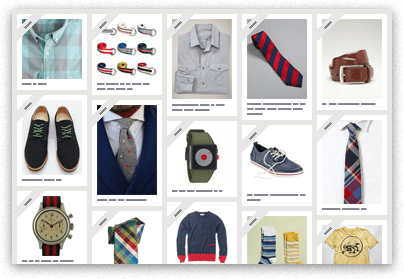 """De la página de Pinterest: """"Find your Style!  Tim uses Pinterest to share his personal style. He pins clothing, shoes and accessories he finds while browsing stores and fashion blogs."""""""