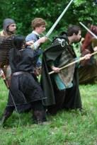 """Bataille pour Arthur, spectacle """"l'Avènement du roi Arthur"""""""