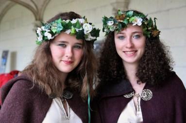 """Dames d'Avalon, spectacle """"l'Avènement du roi Arthur"""""""