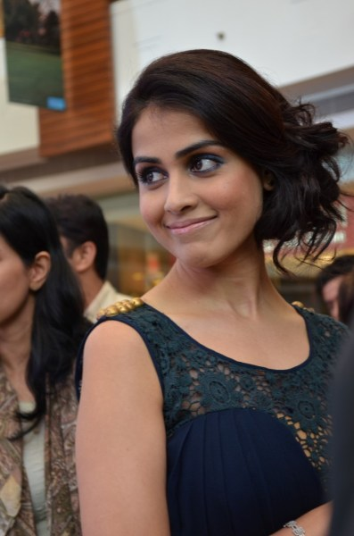Genelia smiled and asked, 'Hope you got the incredible shots you wanted?'