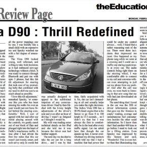 Vista D90: Thrill Redefined