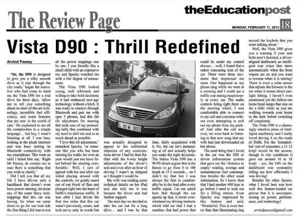2013_02_11_Review of Vista D90